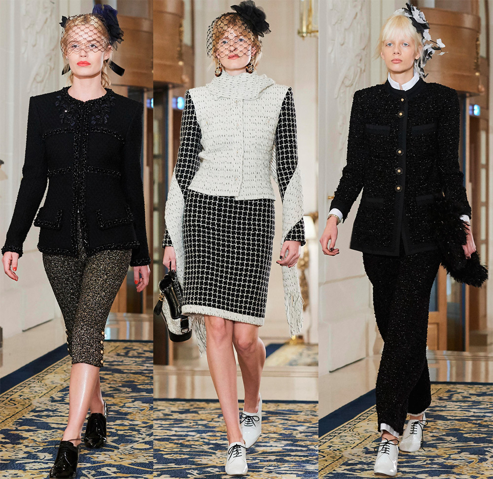 коллекция Chanel осень-зима 2017-2018