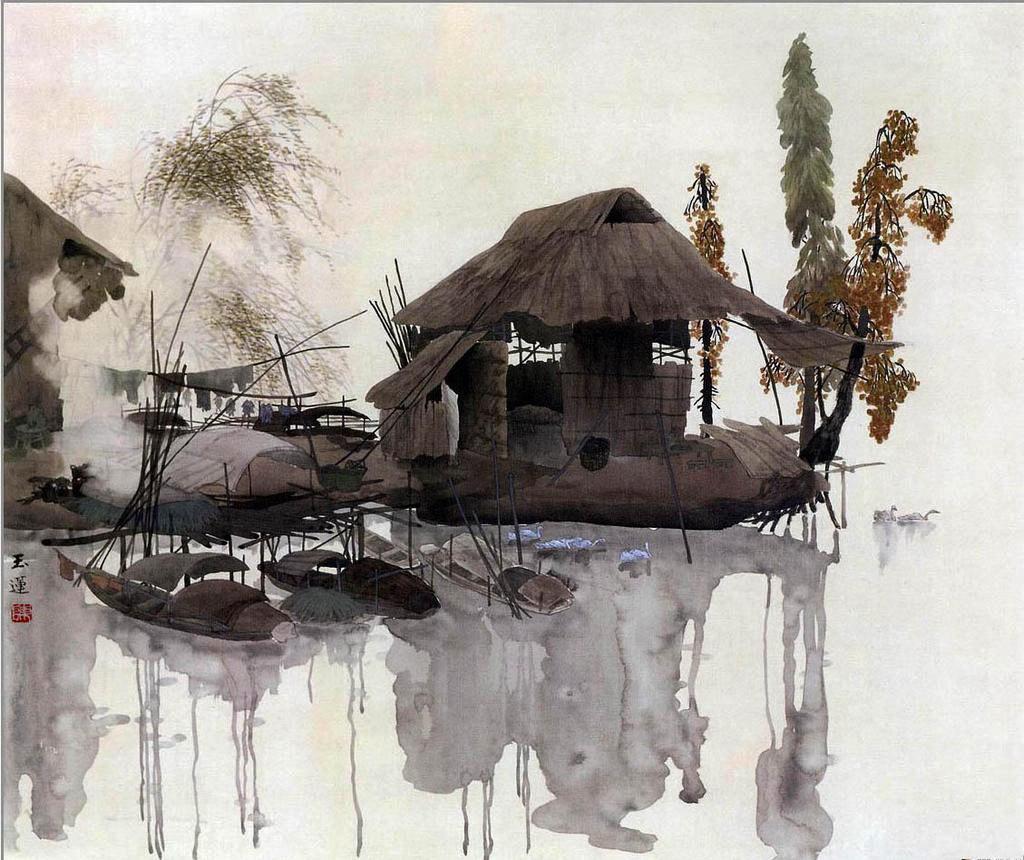 Китайская акварель