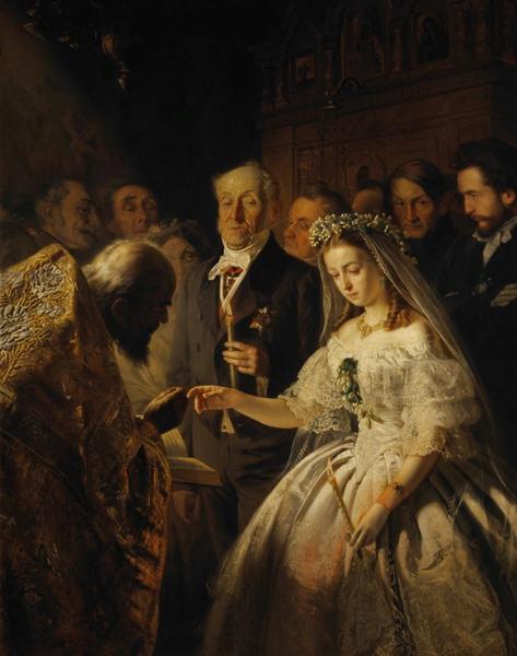 «Короткий, но блестящий след …» — заслуженно ли  Василий Пукирев считается «художником одной картины»?