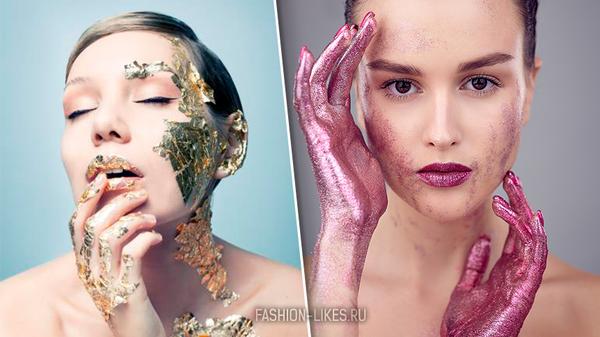 Космический поцелуй — тренд 2019: главный секрет макияжа для губ с эффектом фольги