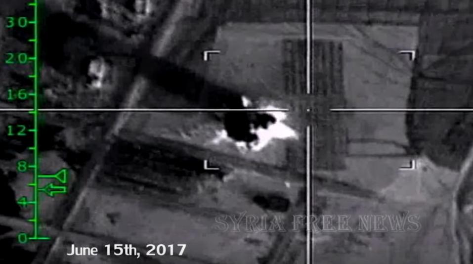 Кадры с дрона: Самолеты ВКС …