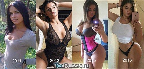 Теперь это самый модный тип женской фигуры ?