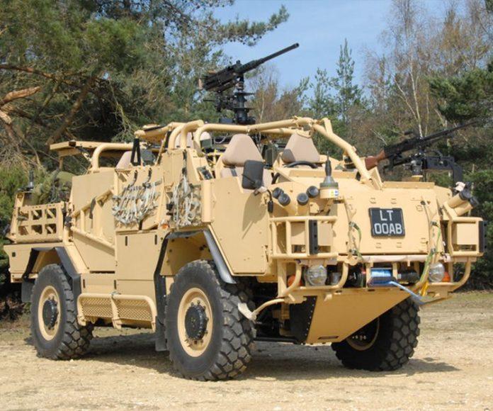 Спецавтомобиль «Шакал» для британского спецназа