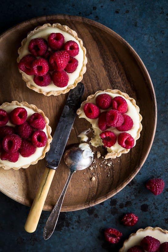 Малиновый десерт с маскарпоне