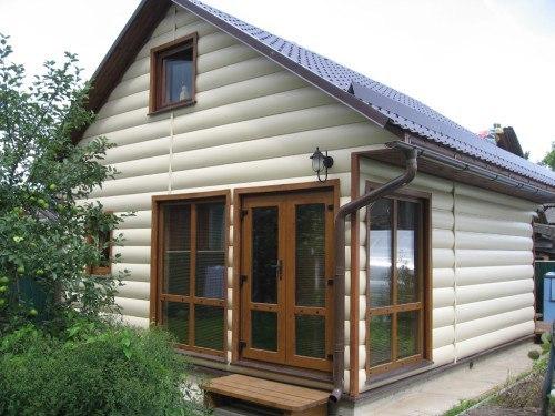 Отделка деревянного дома своими руками