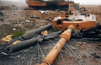 Истребление «Леопардов» под Аль-Бабом, новые потери турок