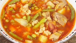Фото к рецепту: Английский суп стю