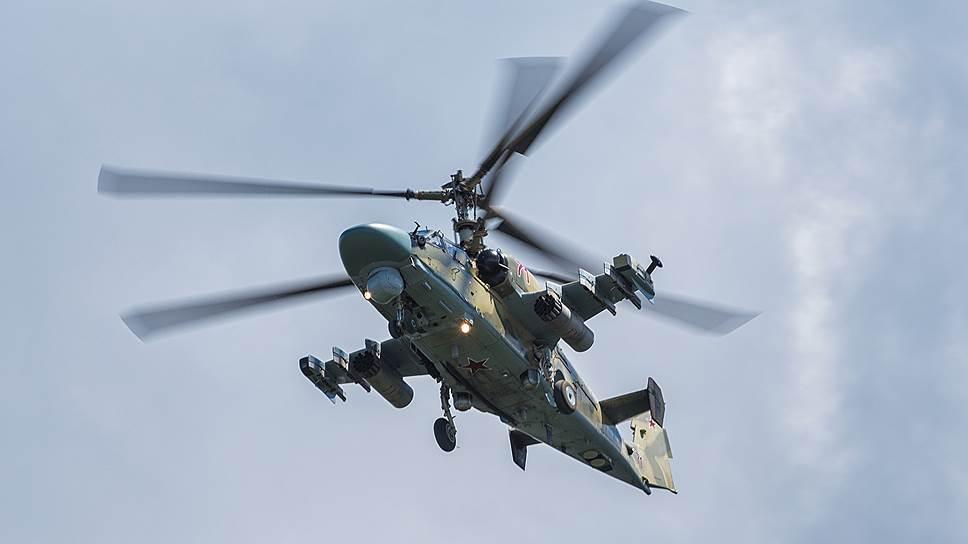 «Аллигатор» не вернулся на базу.В Сирии потерпел катастрофу вертолет Ка-52