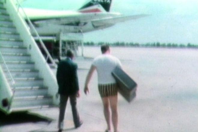 Странная фотография с историей: угон самолета 1972 года
