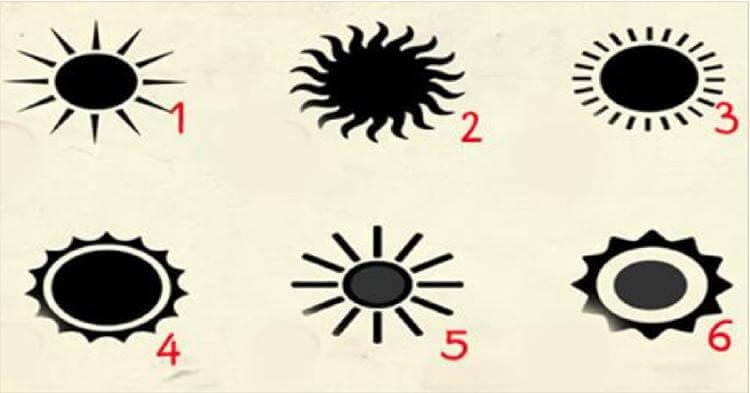 Выберите солнце и раскройте …