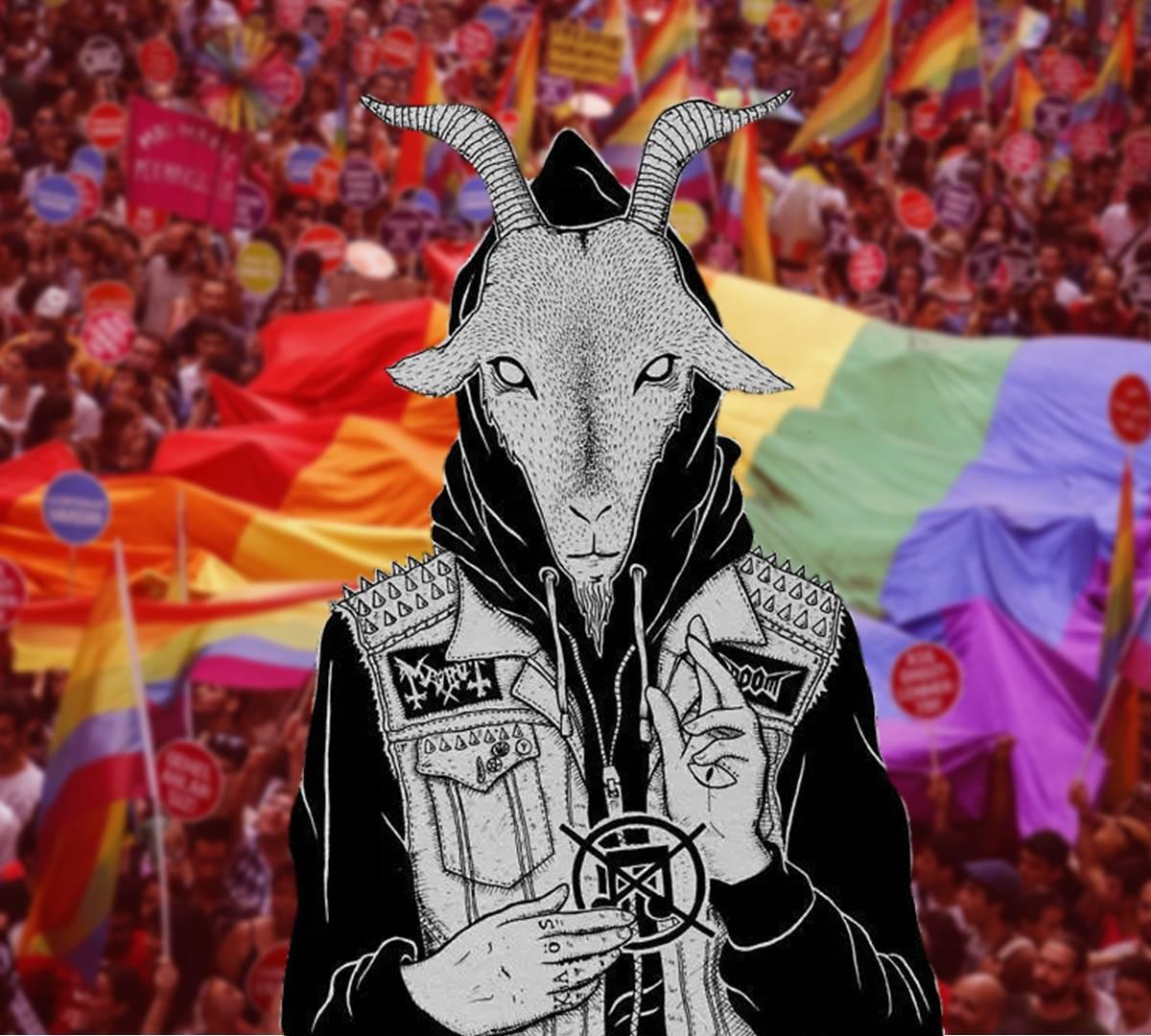 Сатанинский лик глобального фашизма