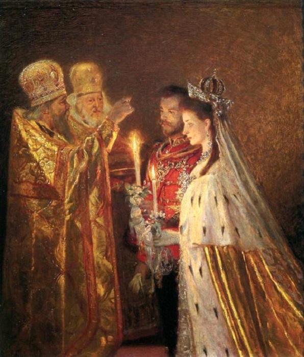 Венчание Николая II и принцессы Александры, 1894 год
