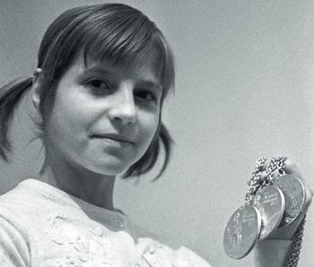 Легендарная олимпийская чемпионка Ольга Корбут решила продать свои медали