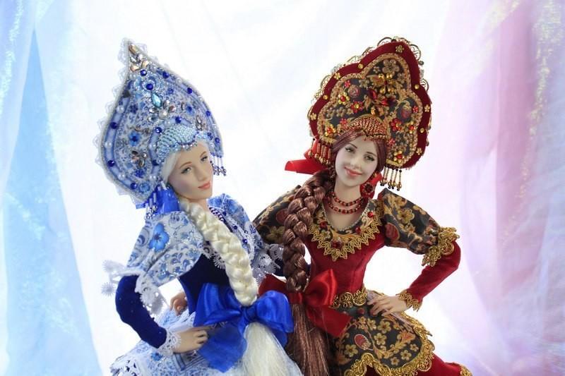 Наш ответ Барби: Куклы ручной работы Ларисы Исаевой (17 фото)