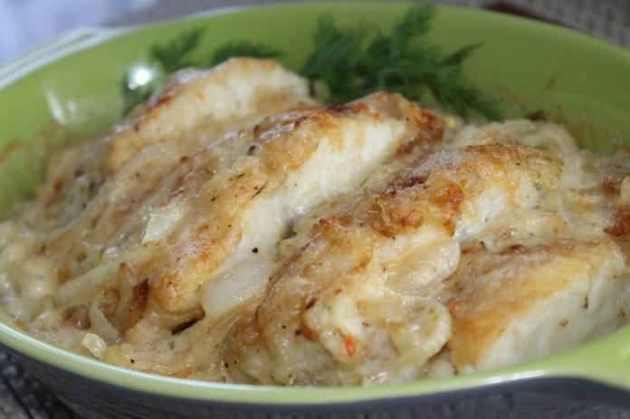 Обожаю так готовить рыбку — …