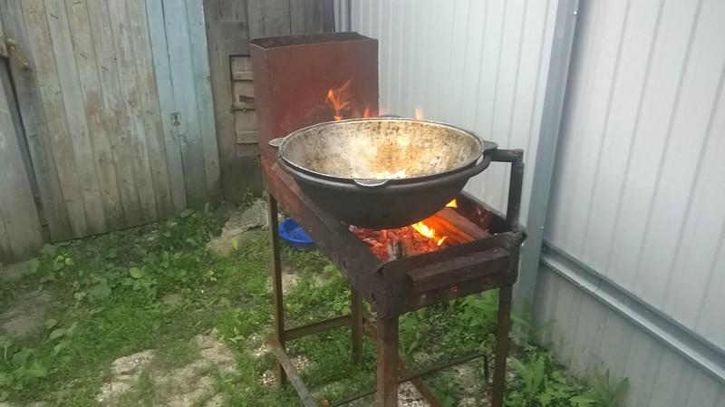Как сделать печь для казана своими руками - советы печников. Жми! 86