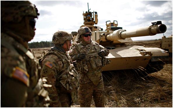 20 тысяч солдат НАТО перебра…