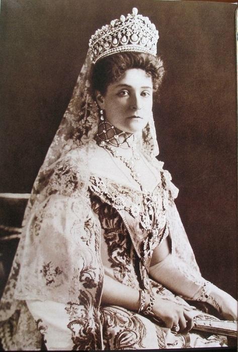 Императрица Александра Федоровна на открытии I-й Государственной Думы в 1906г. Фотограф – Карл Булла