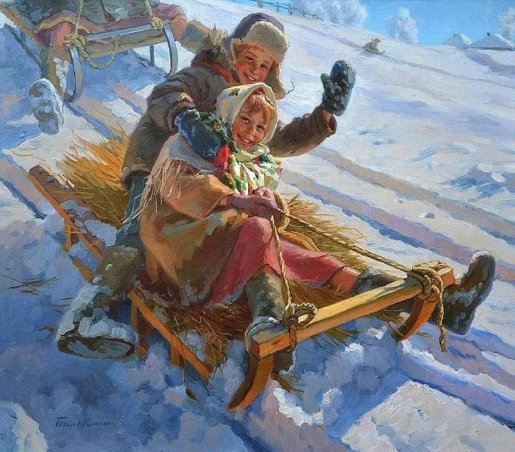 художник Евгений Балакшин картины – 01