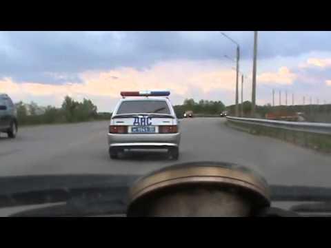 Водитель психанул - отказался остановиться!