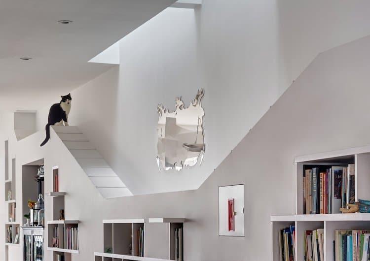 Оригинальный интерьер дома, который идеально подходит для котовладельцев