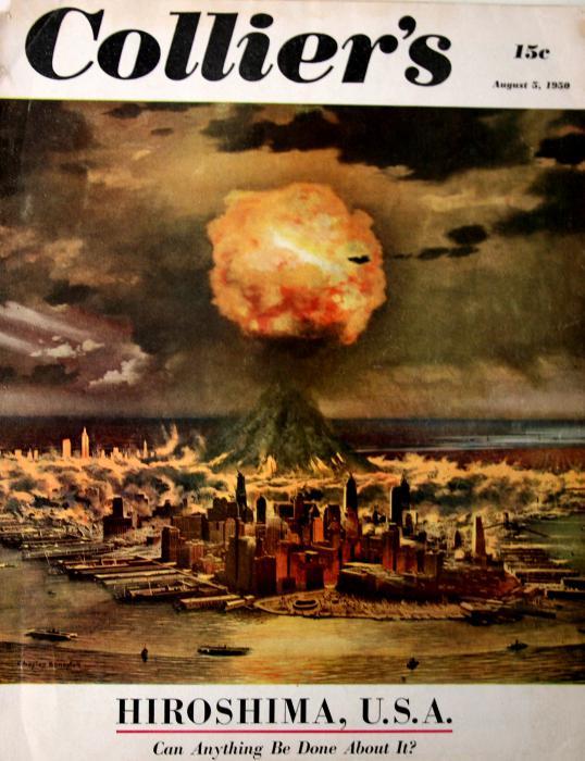 Американская пропаганда. Нападение и оккупация СССР в 1950-1955 годах