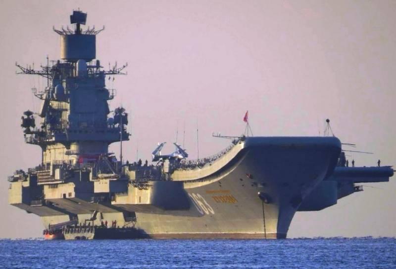 Утвержден план ремонта крейсера «Адмирал Кузнецов»