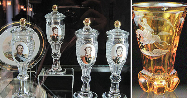 Знаменитые двухслойные стаканы крепостного Вершинина, секрет которых так и не разгадали за 200 лет