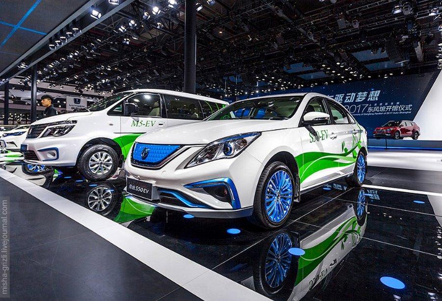 Shanghai MotorShow 2017: новинки китайского автопрома
