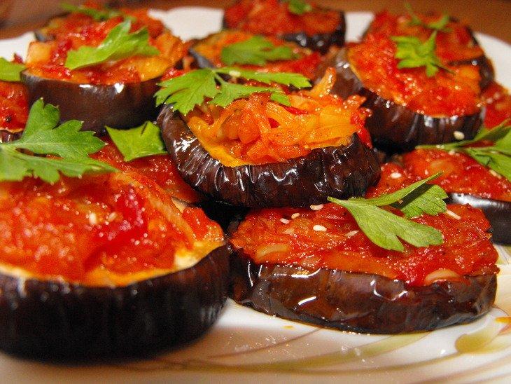 Баклажанов блюда из имамбаялды рецепт