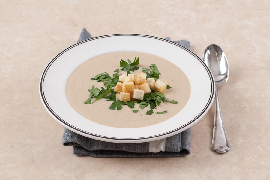Приготовить суп пюре из белых грибов