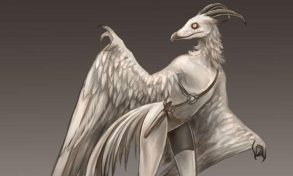В 2014 году в Южной Дакоте видели белого человека-птицу