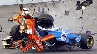 Топ 10 Страшных аварий в Гонках