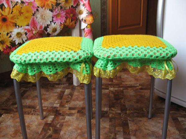 чехлы на стулья на кухню фото 2