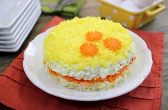 Обязательное блюдо любого праздника — Мимоза «Классическая»