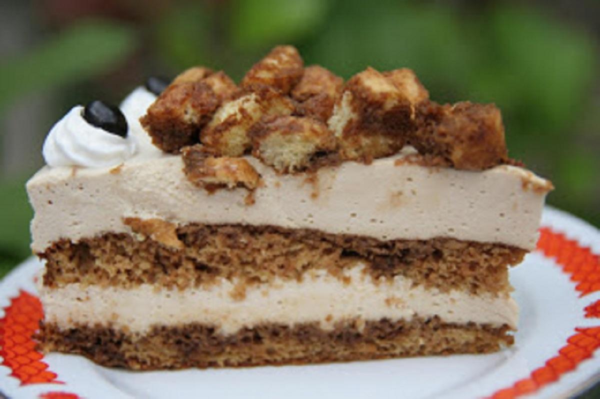 Кофейный торт с маскарпоне. Если хотите порадовать своих родных и близких, любителей кофейного аромата, обязательно приготовьте этот десерт!