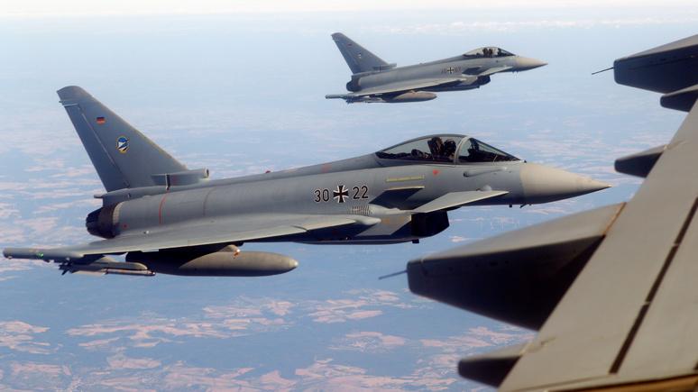 Россия испортила Германии боевую авиацию
