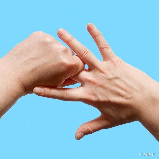 Что будет, если держаться за средний палец не меньше 5 минут?