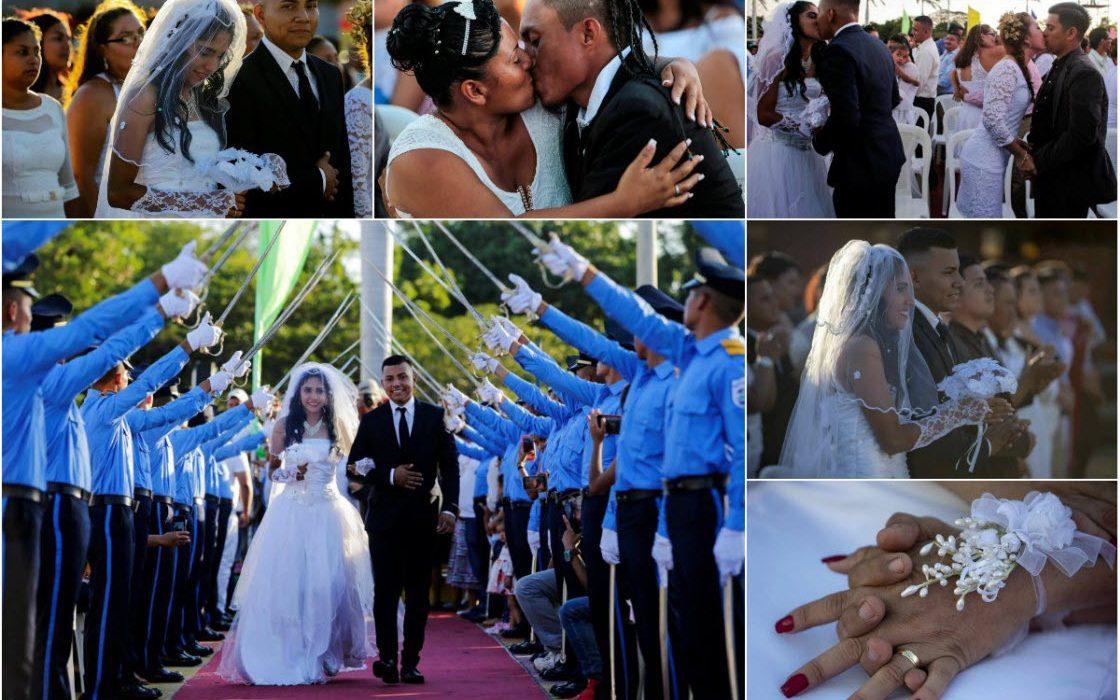 Массовая свадьба в день Свят…