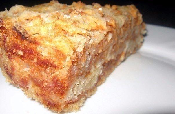 Обалденный сыпучий и очень вкусный пирог с яблоками