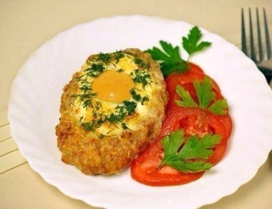 Прекрасный ужин — Нежные шницели с яйцом