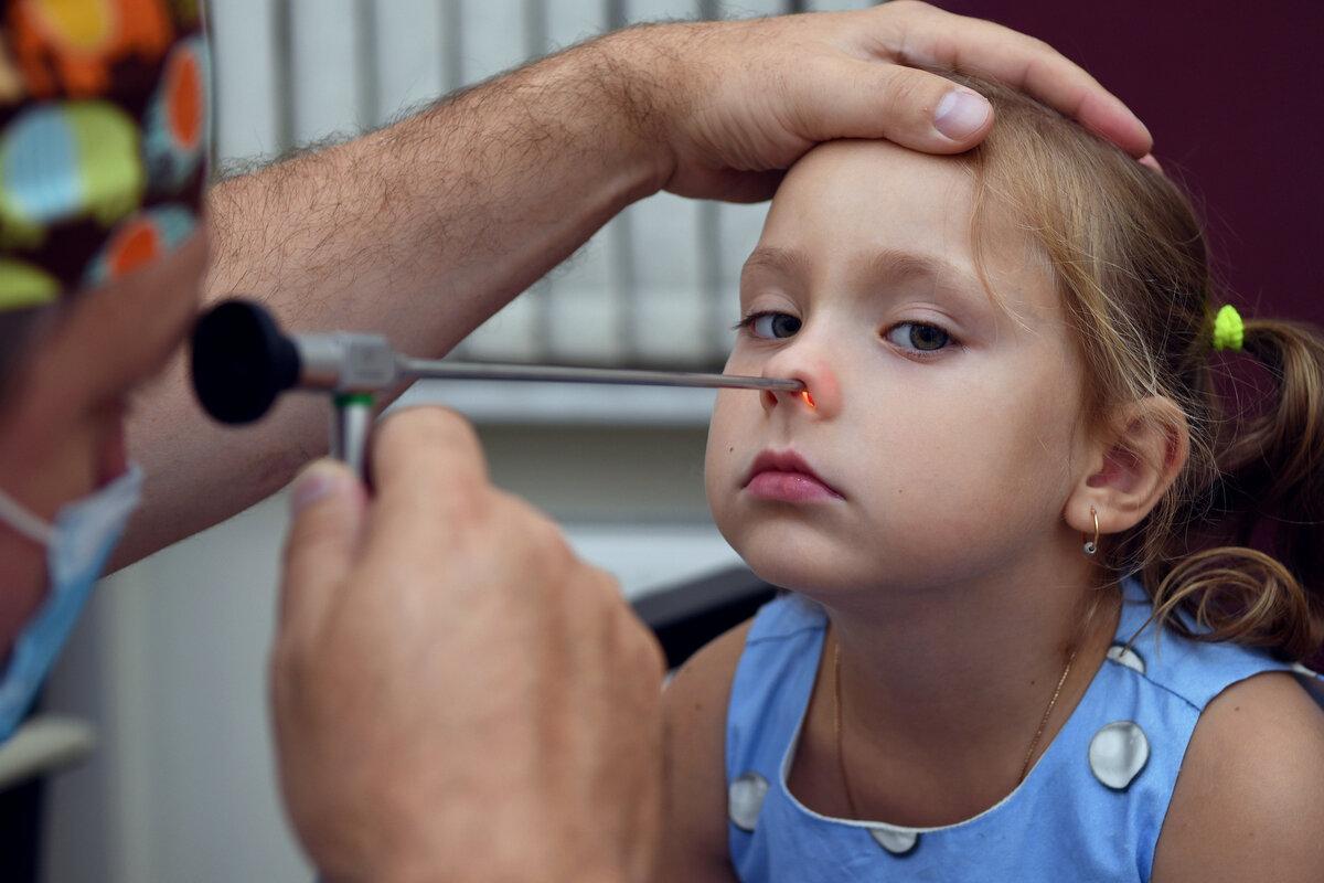 """Эндоскопия полости носа у детей в """"Лор Клинике Доктора Зайцева"""""""