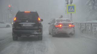Мороз ударил по автомобилям премиум-класса