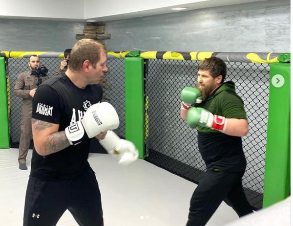 Рамзан Кадыров сразился с Ал…