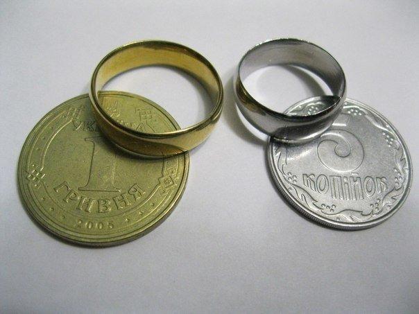 Как сделать кольцо из обычной монеты