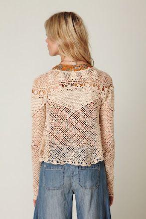 Outstanding Crochet: Crochet top: