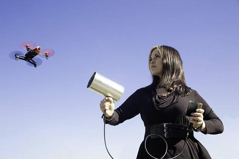 Борьба с БЛА без косвенных потерь, или как хакнуть дрона