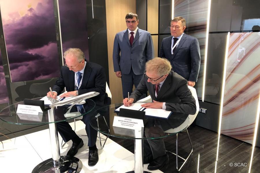 Правительство России выделило средства на начало работ по созданию самолета SSJ75