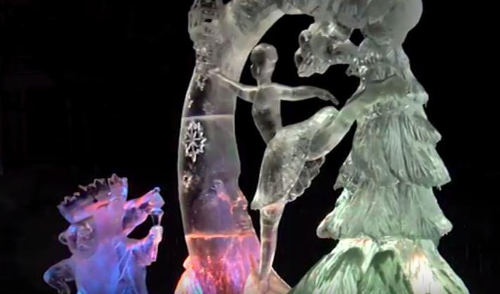 Жители Петрозаводска проводили зиму песнями и танцами