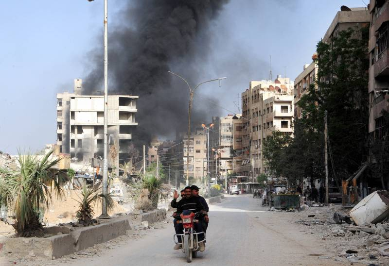 Ситуация в Сирии. ВКС РФ уничтожают террористов в Дейр-эз-Зоре